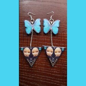 Handmade Butterfly Earrings by TreasurableTreats